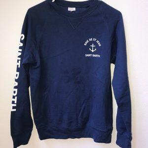 navy blue sweater (brandy melville)